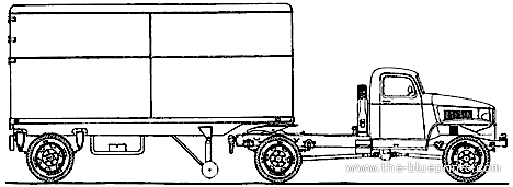 Chevrolet G7113 Semi-Trailer