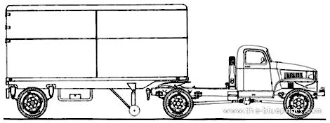 Chevrolet G7113 Semitrailer 1943