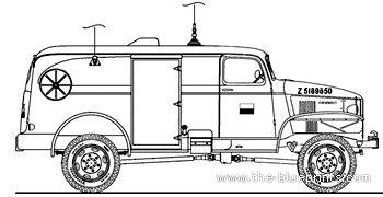 Chevrolet K-51 Radio 1943