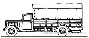 Citroen Type 45 Truck