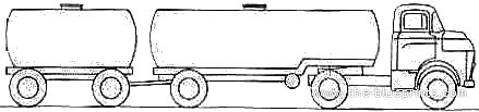 Dodge C700 Trailer (1959)