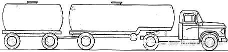 Dodge D700 Trailer (1959)