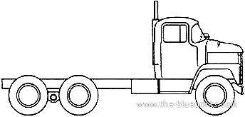 Dodge LCF Tandem Axle (1970)