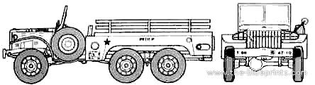 Dodge WC-62 6x4