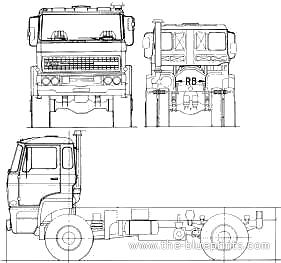 Ginaf F240 DHT 4x4