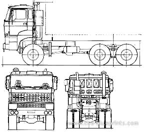 Ginaf F380 DKT 6x6