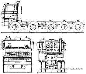Ginaf F530 DKX 10x4
