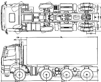 Ginaf X 4345 TSV 8x6