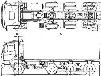 Ginaf X 4446 TS 8x4