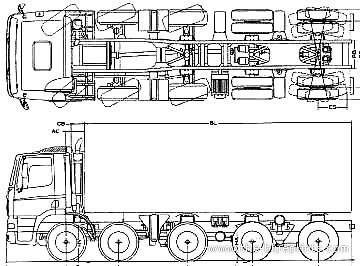 Ginaf X 5250 TS 10x4
