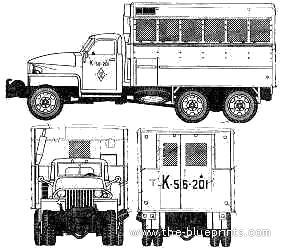 GMC CCKW-352 2.5 ton