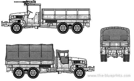 GMC CCKW-353 2.5 ton 6x6