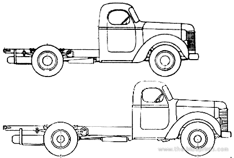 International K-8 Truck (1946)