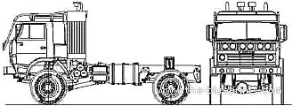 KAMAZ 4911 4x2