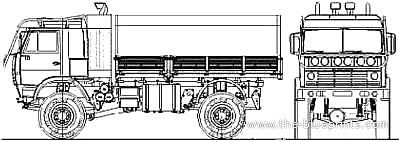 KAMAZ 4911 4x4