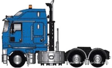Kenworth K200 Prime Mover