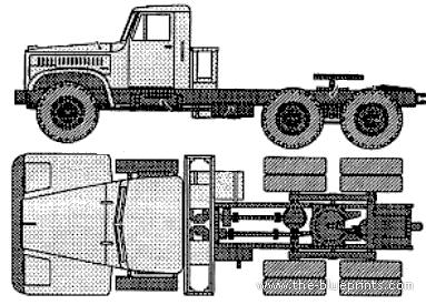 KrAZ 258