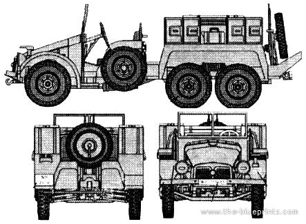 Krupp Protze L2H143 Kfz.69