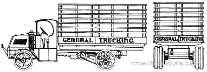 Mack Bulldog Stake Truck (1923)