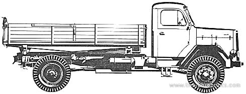 Magirus Deutz 156 D 15 AK 4x4 (1967)