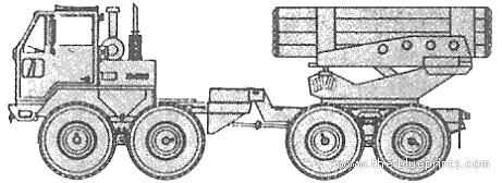 MAN T10 8x8 MLRS
