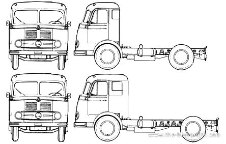 Mercedes-Benz LPS 334 (1960)
