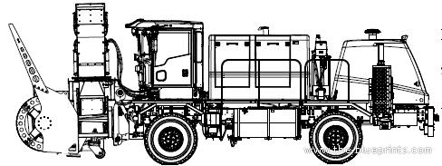 Oshkosh H Series Road-Blower (2012)