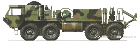 Oshkosh M984 Recovery Vehicle