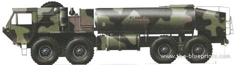 Oshkosh M998 Fuel Tanker