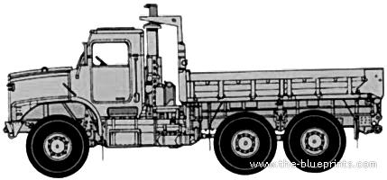 Oshkosh MTVR Mk23 Cargo