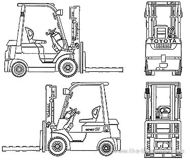 Toyota L&F Geneo Forklift