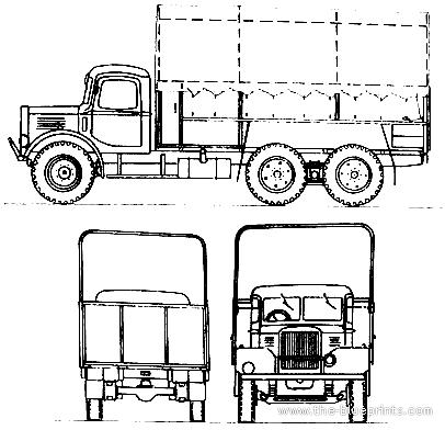 Austin_k6_3 Ton_6x4