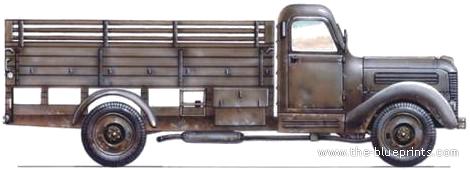 Praga RND 3-ton 4x2