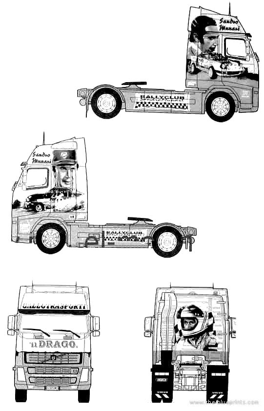 blueprints  u0026gt  trucks  u0026gt  volvo  u0026gt  volvo fh 16