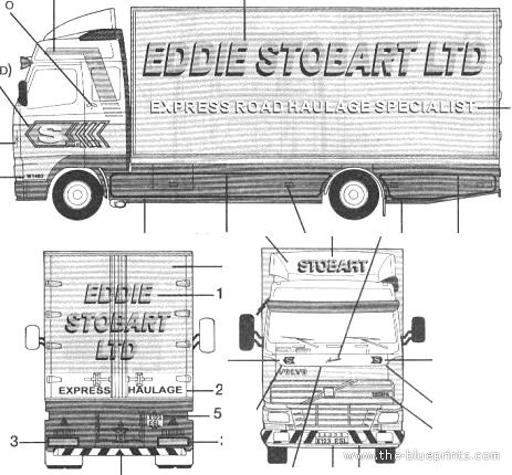 Volvo FH12 Rigid Truck