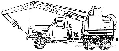 ZiS-151 Crane