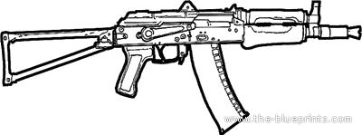 AKS-74U Kalashnikov