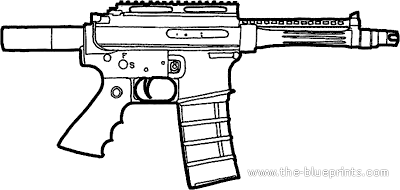 Colt M16 Ultracompact