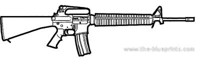 Colt M16A2