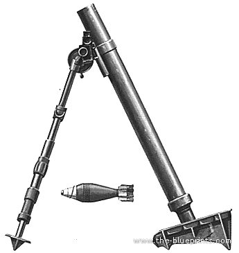 M2 60mm Mortar