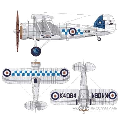 Gloster Gauntlet Mk. I