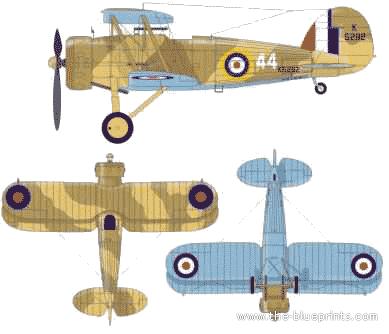 Gloster Gauntlet Mk. II