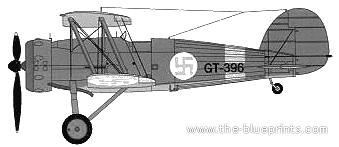 Gloster Gauntlet Mk.II