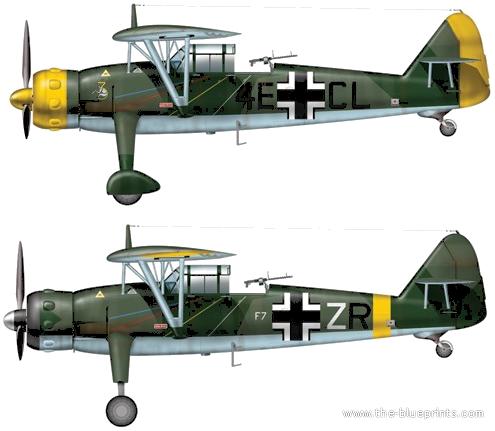 Henschel Hs 126 B1