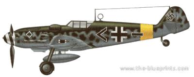 Messerschmitt Bf 109G-6-R6