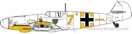 Messerschmitt Bf 109G-2-R6