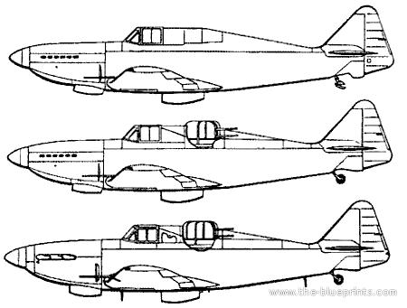 Boulton-Paul P.82 Defiant Prototypes
