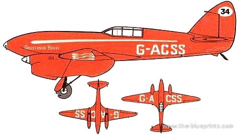 de Havilland DH.88 Comet Racer