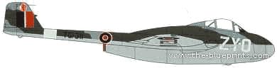 de Havilland DH.100 Vampire Mk.1