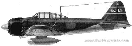 Mitsubishi A6M5 Reisen (Zero)